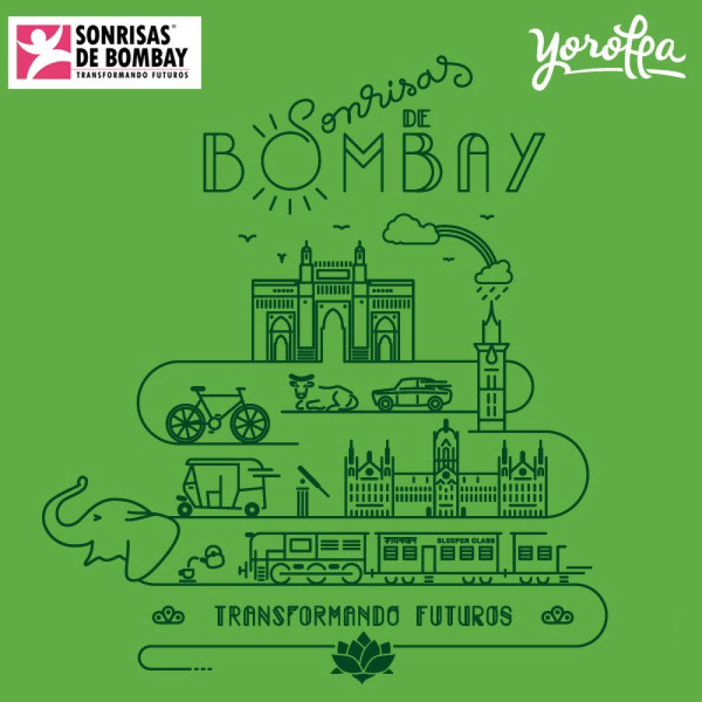 Camisetas sonrisas de Bombay (mujer)