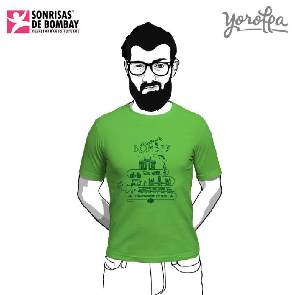 Camisetas Sonrisas de Bombay (unisex)
