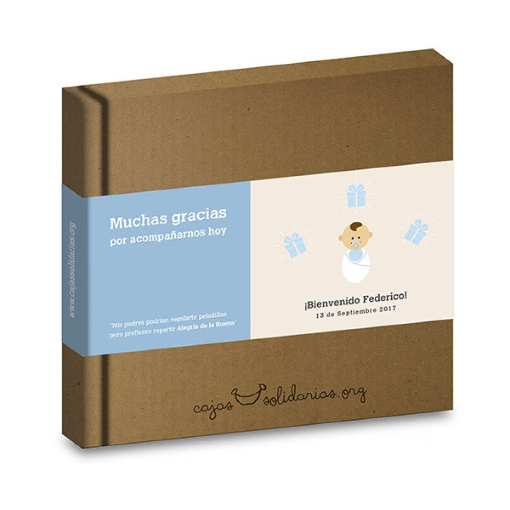 Caja solidaria bautizo