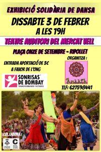 Espectáculo solidario de Bollywood, en Ripollet @ Teatre Auditori del Mercat Vell | Terrassa | Catalunya | España