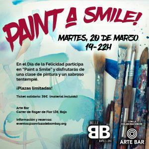 Paint a smile @ Arte Bar | Barcelona | Catalunya | España