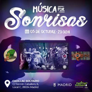 ¡Ven al concierto solidario de Coopoc y Hatta en favor de Sonrisas de Bombay en Madrid! @ Sala Cadillac solitario | Madrid | Comunidad de Madrid | España