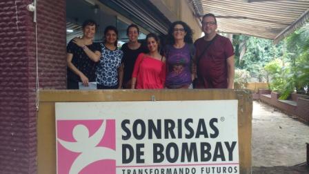 Nos visitaron en Bombay
