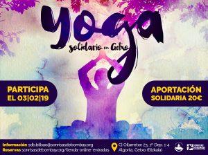 Yoga Solidario en Getxo