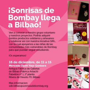 Sonrisas de Bombay llega a Bilbao y lo celebramos con un mercadillo @ Antigua fábrica de Galletas de Bilbao (Fábrica Artiach)