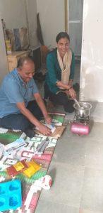 taller de velas para víctimas de tráfico humano 1