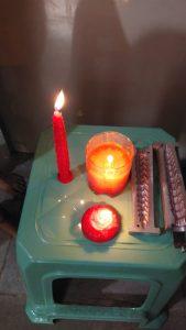 taller de velas para víctimas de tráfico humano 2