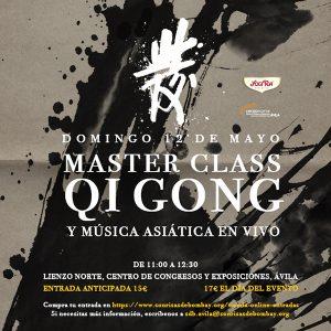 Master Class solidaria de Qigong en Ávila @ Lienzo Norte, Centro de Congresos y Exposiciones, Ávila