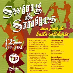 "II edición ""Swing & Smiles"" @ The Top (Gallery Hotel)"