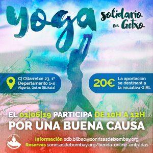 Yoga solidario en Getxo @ Centro de Salud Integral Getxo