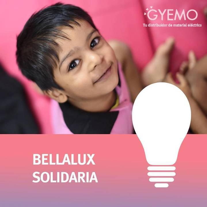 Gyemo y sus bombillas solidarias