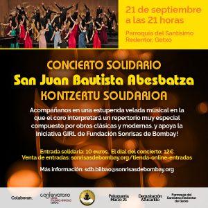 Concierto del coro San Juan Bautista Abesbatza @ Parroquia del Santísimo Redentor