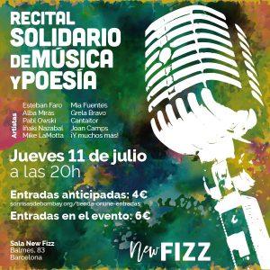 New Fizz Recital de Música y Poesía @ Sala New Fizz