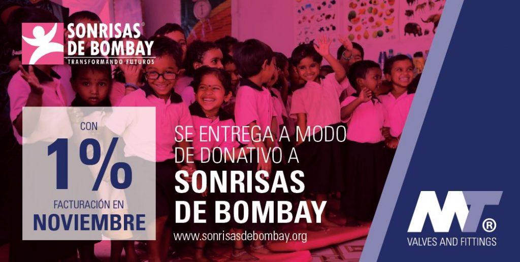 MT donación Tráfico Humano Sonrisas de Bombay