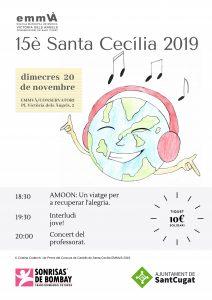 Concierto solidario Santa Cecilia @ Escola Municipal de Música Victoria dels Angels de Sant Cugat