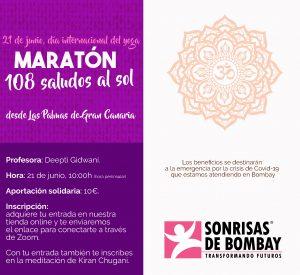Maratón de 108 saludos al sol