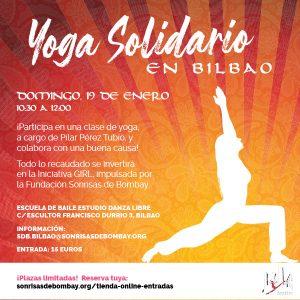 Yoga solidario en Bilbao @ Escuela de baile Estudio Danza Libre