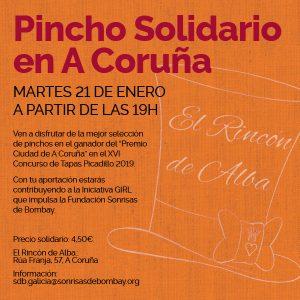 Pincho solidario en A Coruña @ El Rincón de Alba