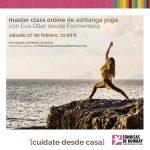 Masterclass solidaria de Yoga de la mano de Eva Oller