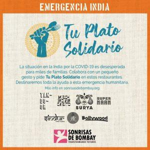 ¡Tu plato solidario!