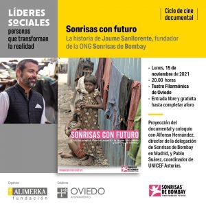 Ciclo de cine documental «Líderes sociales: personas que transforman la realidad» @ Teatro Filarmónica de Oviedo