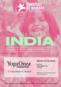 Yoga por la India: Yogaone Moncloa @ YogaOne Moncloa