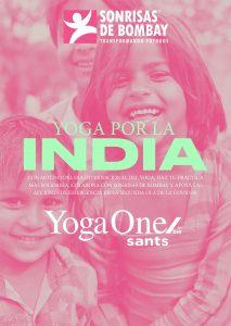 Yoga por la India: YogaOne Sants @ YogaOne Sants